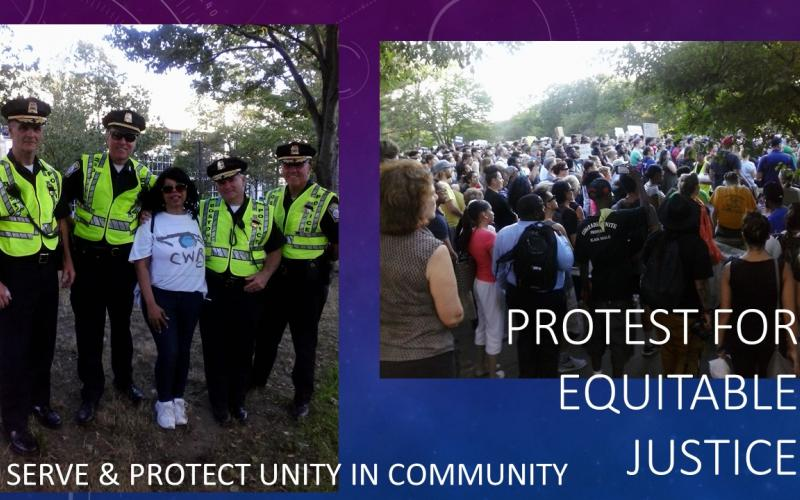 Protest for Equitable Justice