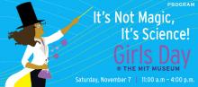 November 2015 Girls Day at the MIT Museum