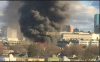 East Cambridge Smoke Billows from 10 Alarm Fire